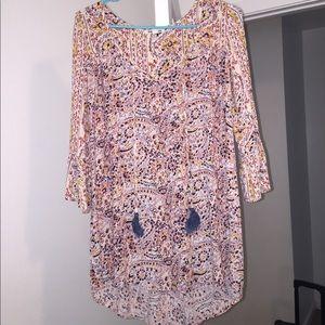Billabong floral dress XS